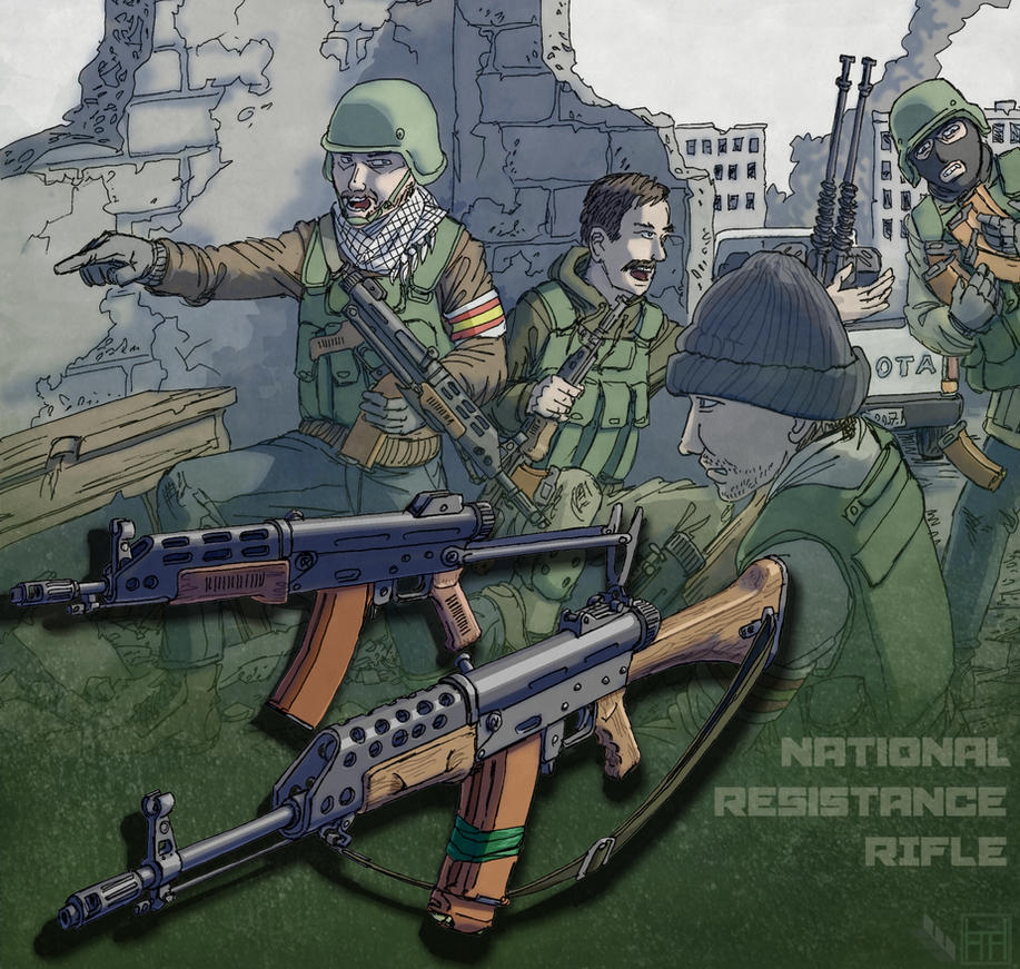 Nat Res Rifle by Hoborginc
