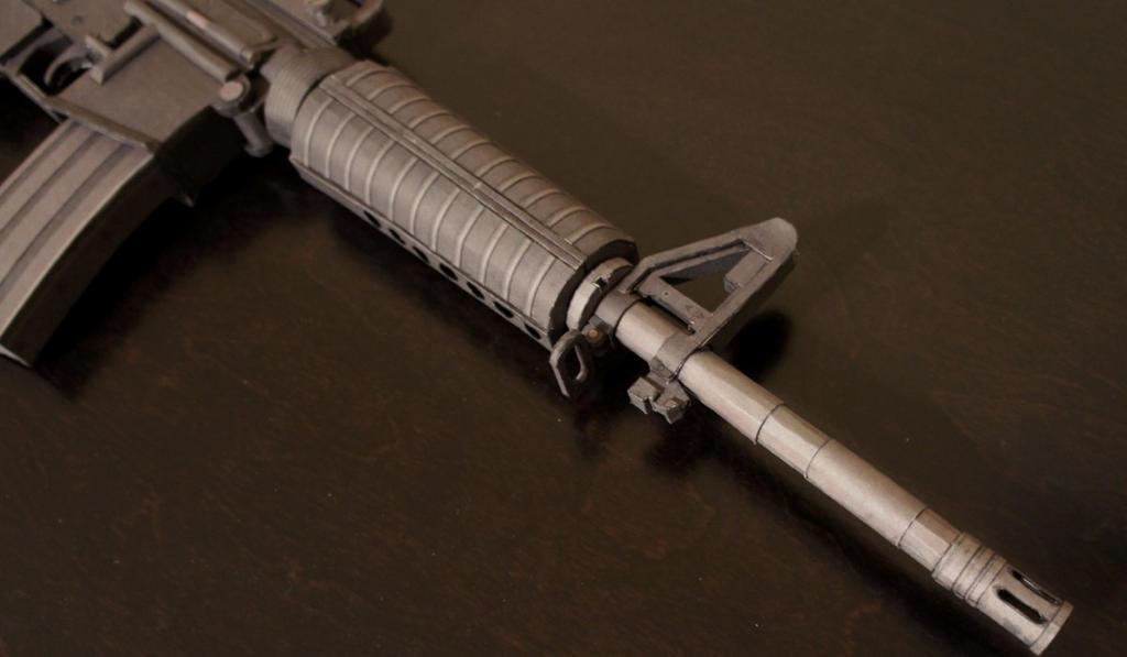 M4 Carbine Front End (2) by Hoborginc