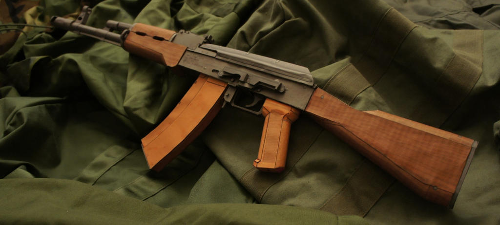 AK-74 Test Build 1 by Hoborginc