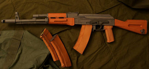 AK-74 Left Side by Hoborginc