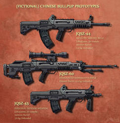 Chinese Bullpup Prototypes by Hoborginc