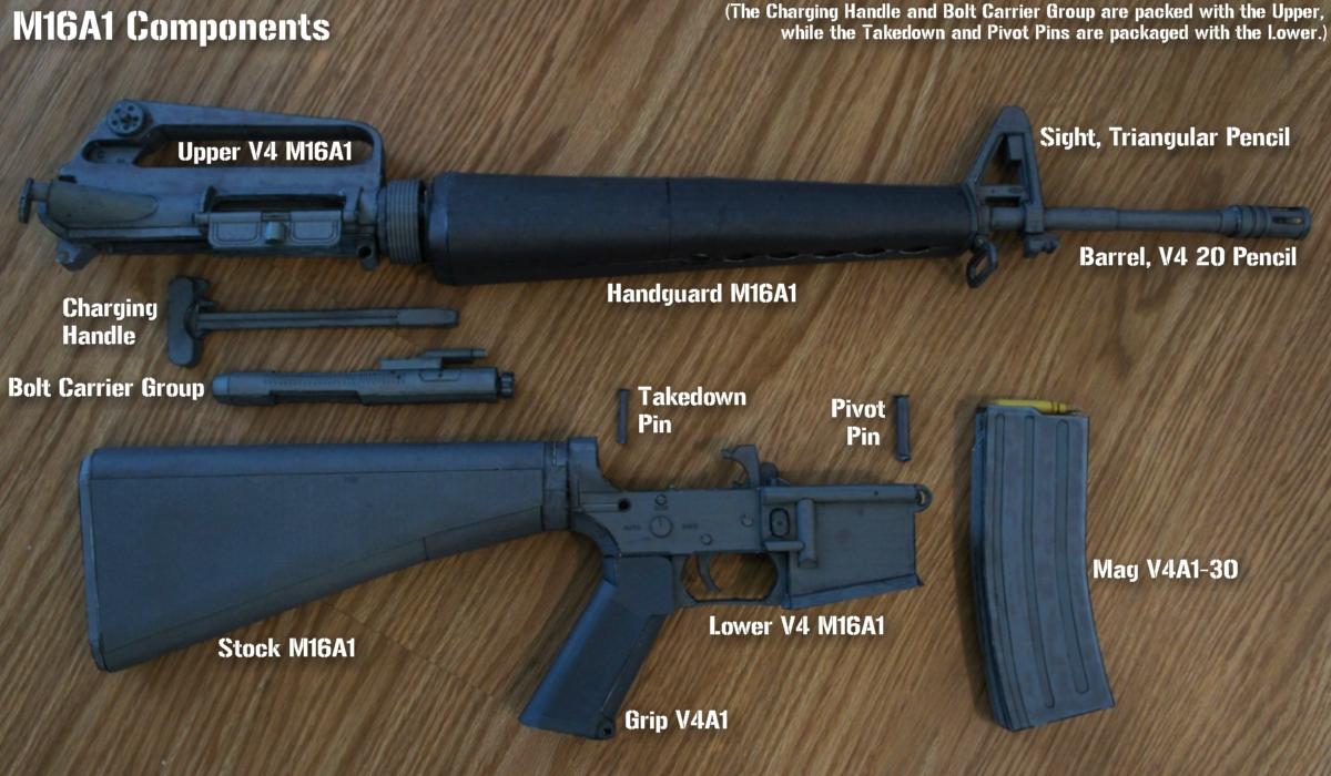 M16A1 Workflow (AR V4 - Early June '19) by Hoborginc on DeviantArt