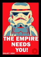 LEGO - Star Wars propaganda clean version by ArchWorks