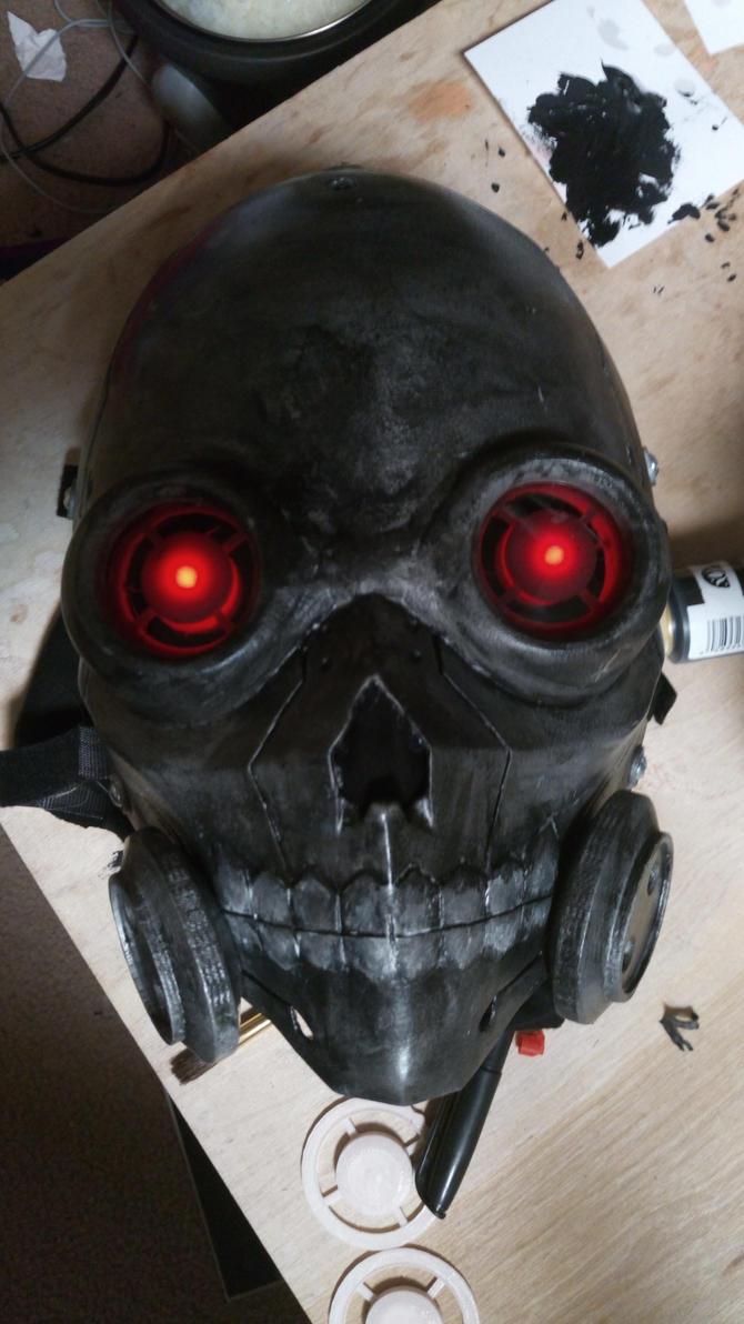 death gun 3d printed mask by ArchWorks