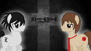 MLP / Death Note Crossover Wallpaper