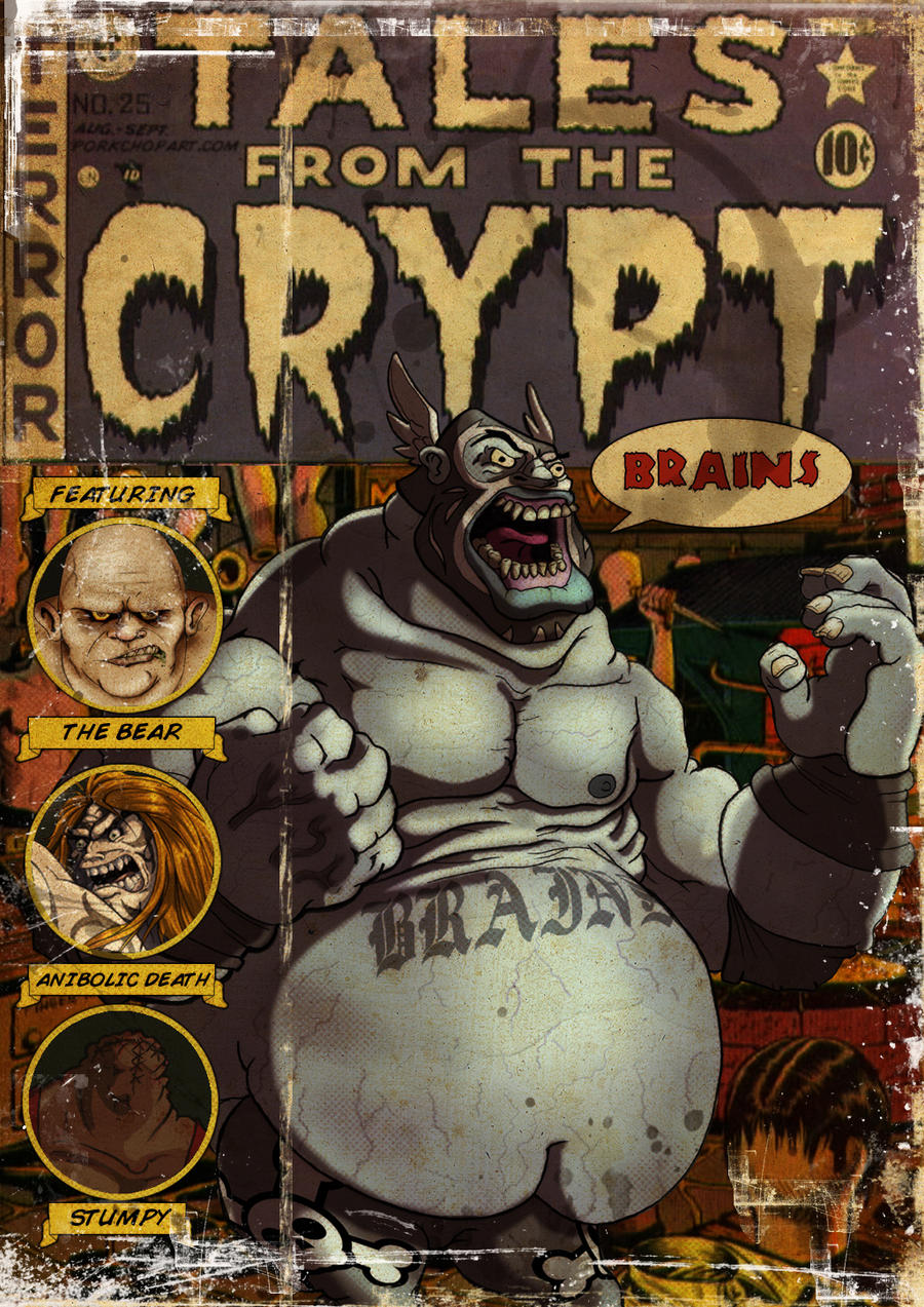 Tales from the crypt by Porkchop-ART