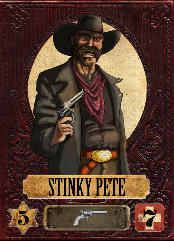 Stinky Pete The Prospector Stinky Pete by Porkchop Art
