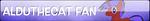 AldutheCat Fan Button (Updated) by AldutheCat