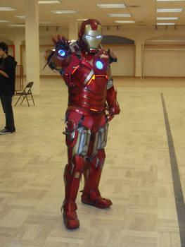 Iron Man Mechanized Cosplay (shot 2)