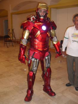 Iron Man Mechanized Cosplay (shot 1)