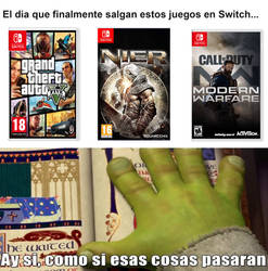 Meme Shrek: Switch GAMES
