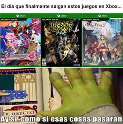 Shrek meme: Xbox GAMES