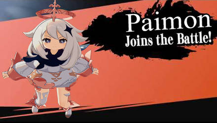 Paimon For Super Smash Bros