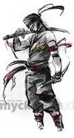 Ninja dual swords