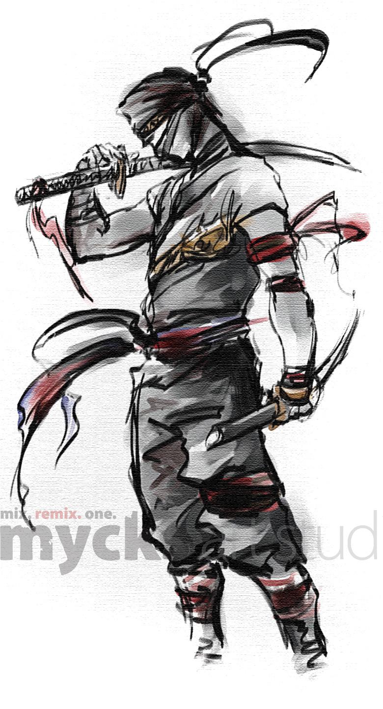 Ninja Dual Swords By Mycks On Deviantart