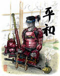 Peaceful Samurai Custom