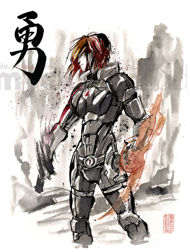 Female Shepard Sumie by MyCKs