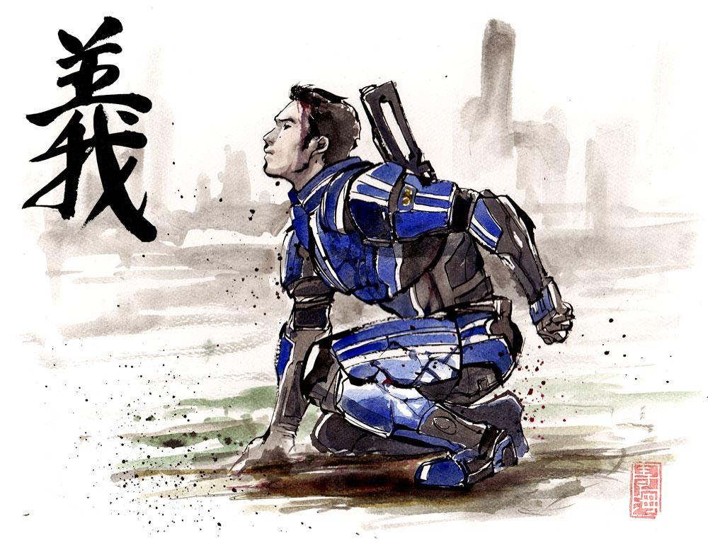 Kaidan Sumie style by MyCKs