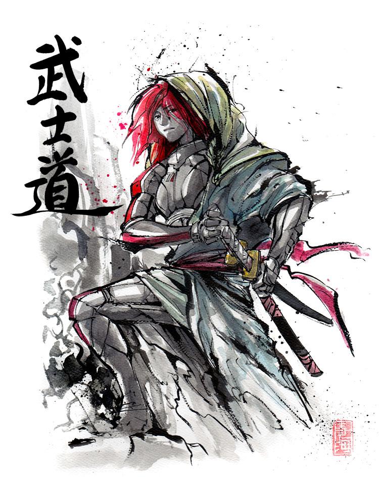 Shepard ronin style.... by MyCKs