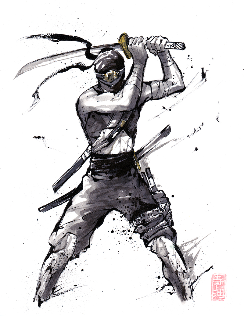 Ninja sumi by MyCKs on DeviantArt