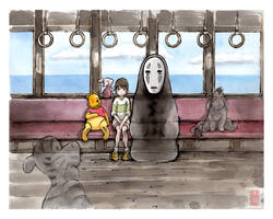 Spirited Away...with Pooh