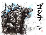 Godzilla sumi