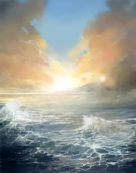 Ocean Age digital painting