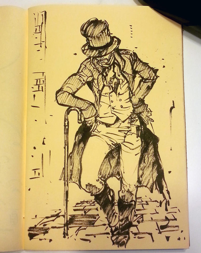 Sketchbook: One of those cane sword things by MyCKs