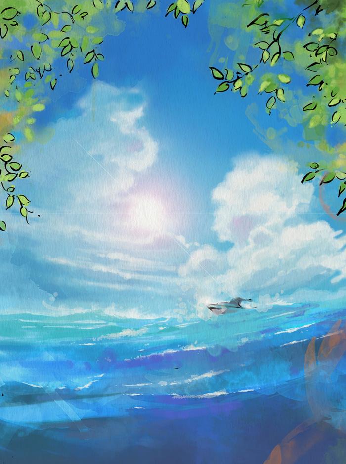 Ocean Age magazine cover image by MyCKs