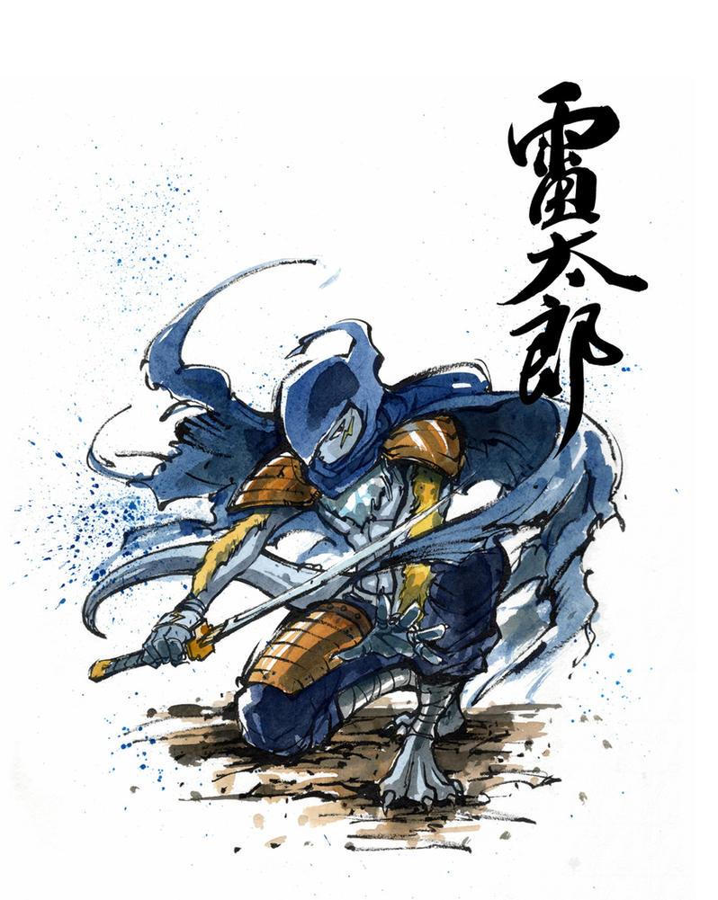 Raijin Raitaro character by MyCKs