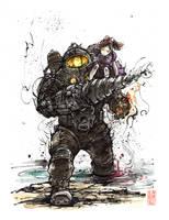 Bioshock 2 Subject Delta Sumi by MyCKs