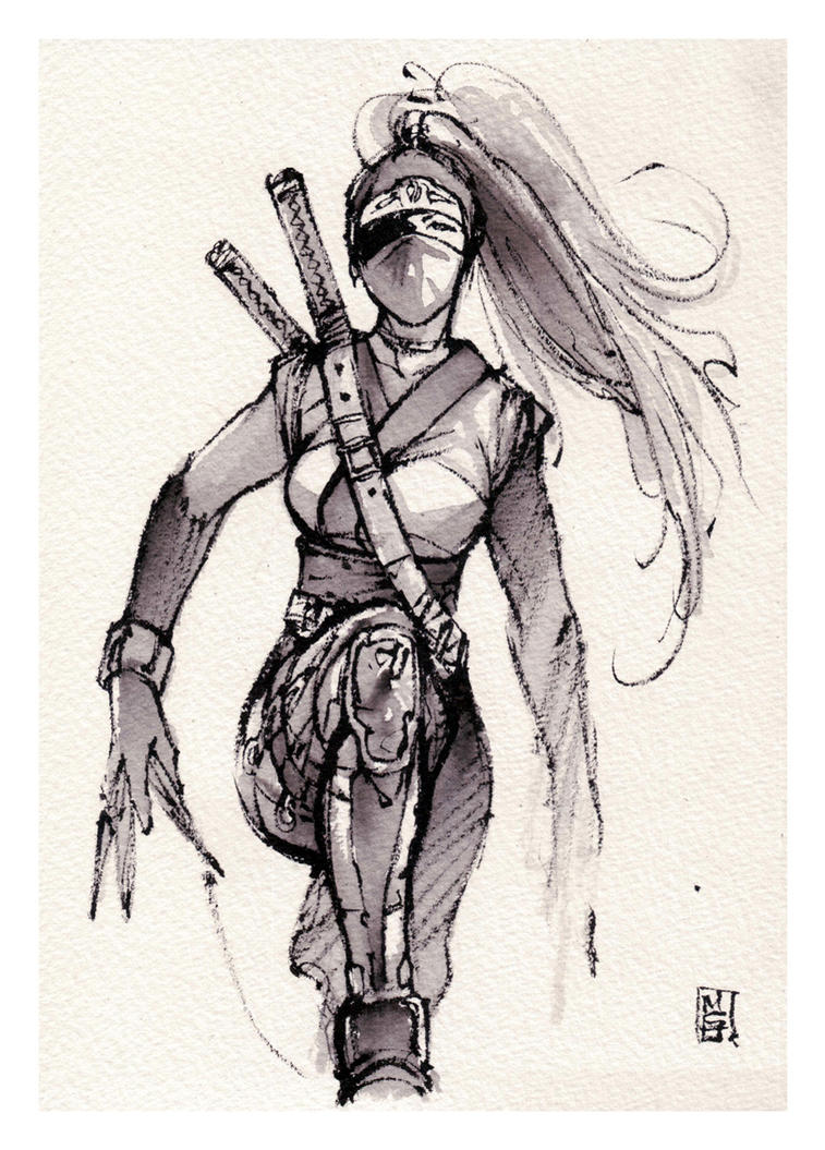 Girl Ninja by MyCKs
