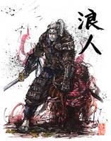 Witcher Geralt of Rivia Samurai RONIN by MyCKs