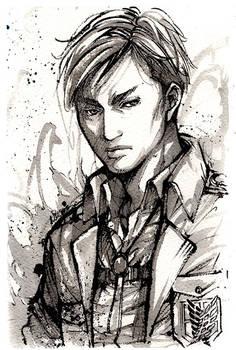 Erwin Smith Sumi Ink draw