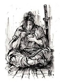 Samurai Gohan time