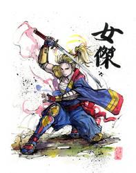 Captain Marvel Samurai by MyCKs