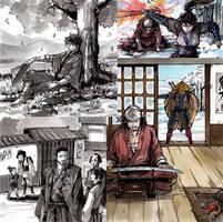 Samurai Card Game Showdown! Kickstarter is live by MyCKs