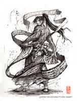 Ink Mage Sumi by MyCKs