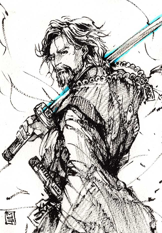 Samurai Luke by MyCKs