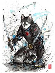 Year of the Dog 2018...samurai