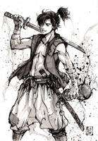 Aladdin.... Samurai! by MyCKs