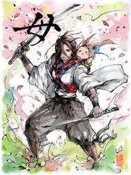 Mother...Samurai! by MyCKs