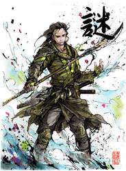 Loki...samurai! by MyCKs