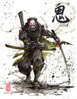 Demon Samurai Genji by MyCKs