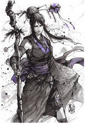 Morrigan in Kimono Giveaway! by MyCKs