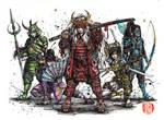 Samurai Power Rangers- the real ones!