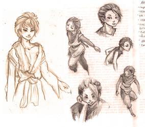 More Touya doodlez. by JenrenG