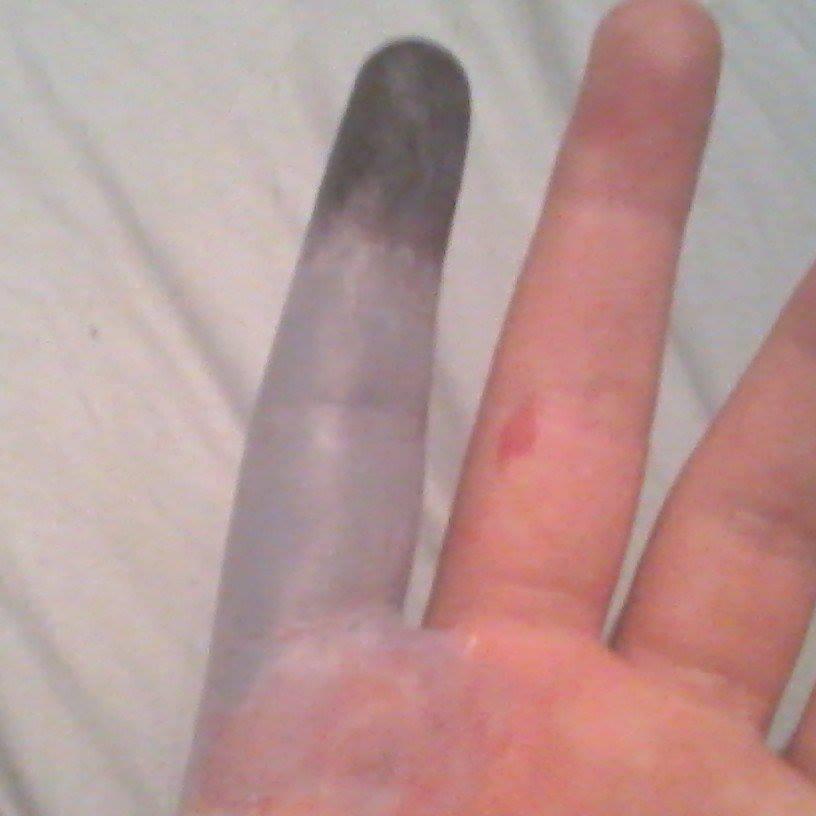 Frost Bite finger by laughatchaos on DeviantArt