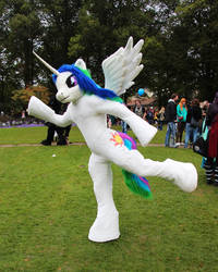 Celestia being silly