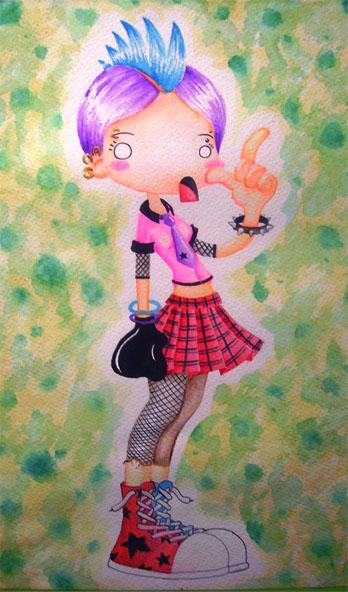 Punk Girl by RunaryKat